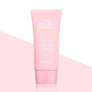 Vieco Pink Volume Powder Sun Cream 有機天然粉紅防曬霜 SPF 35 PA+++