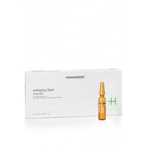 Mesoestetic Anti-aging Flash Ampoules 速長楠竹精華