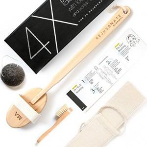 Minamul Luxurious All Natural Dry Brushing Set 身體面部嫩膚純天離子刷套裝