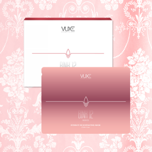 VUXE Dermatology BINK-12 Duchess Hydrate Rejuvenating Mask BINK 12 公爵夫人面膜 5pcs/BOX (優惠期內買2送1)