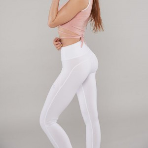 XEXYMIX Crazy Leggings white ivory 皇牌運動襪褲 白色