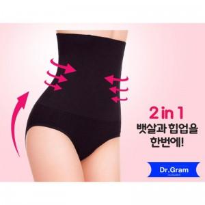 Dr.Gram 韓國極速修身褲 黑色/肉色