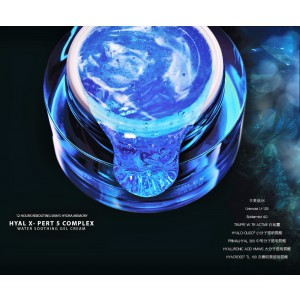 Costec Suisse Hyal X-Pert 5 Complex Water Soothing Gel Cream 生命之水- 5重透明質酸水記憶啫喱面霜 (一盒50ml)